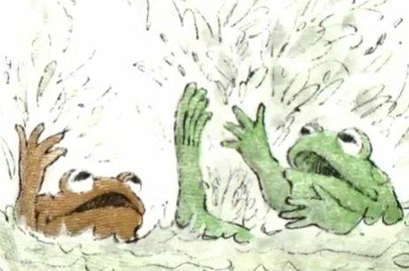 Frog and Toad Are Friends: The Swim