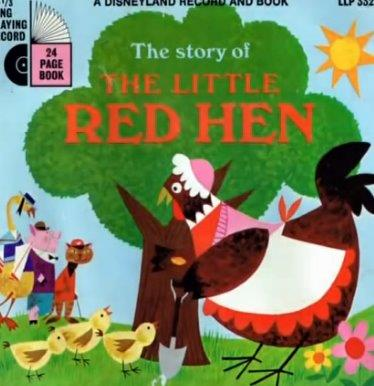 The Little Red Hen Disney Version