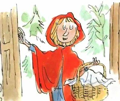 Little Red Riding Hood from Revolting Rhymes