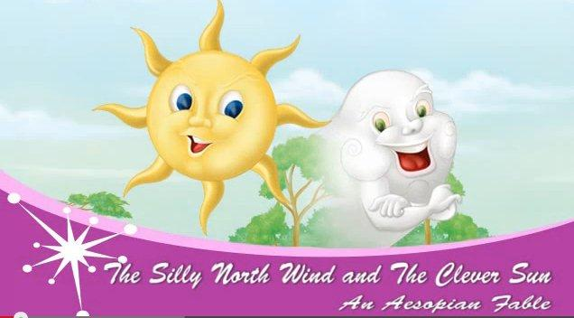 The Silly North Wind and The Clever Sun: An Aesopian Fable