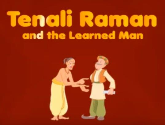Tenali Ramen And The Learned Man